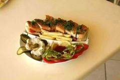 ساندوتش فلافل عربي