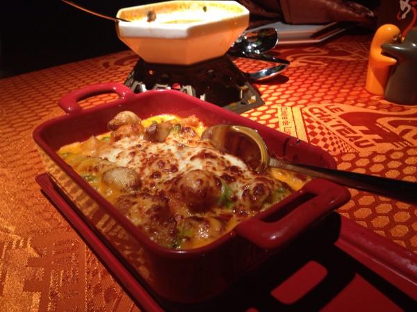 صينية الدجاج بالجبن - لي شاتو Le Chateau,