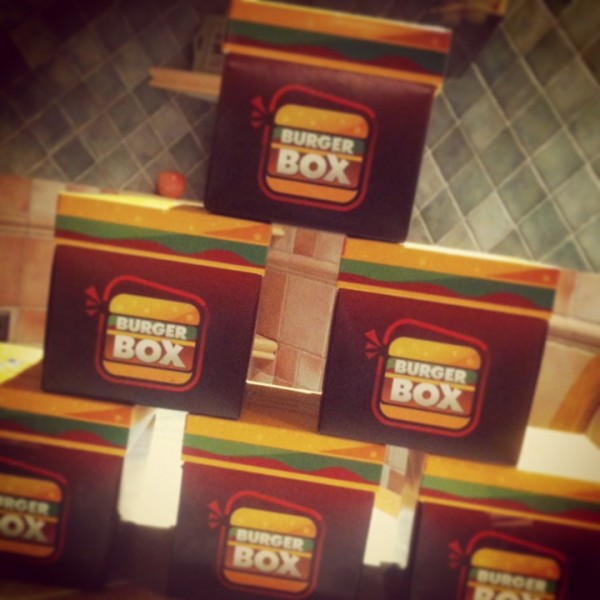 - برجر بكس Burger Box,