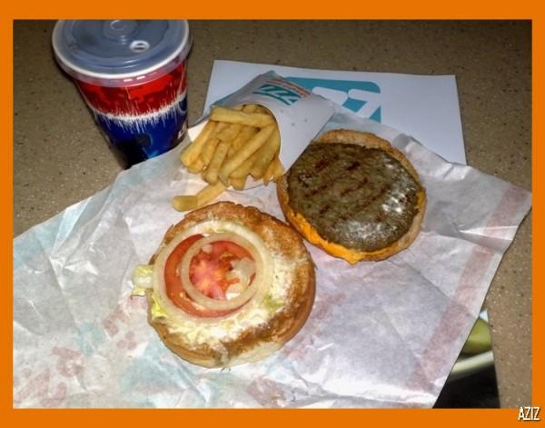 مكونات البرجر من قريب - Grilled Burger 777,