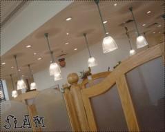 منظر من داخل المطعم