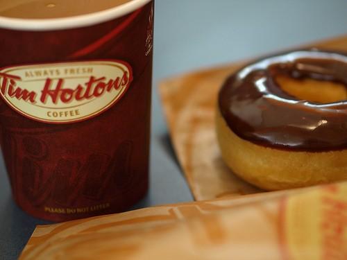 Coffee And Donuts تيم هورتنز Tim Hortons السعودية قيم