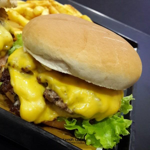 دبل كلاسيك برجر - برجر بركان الجبن Burger Cheese Volcano,