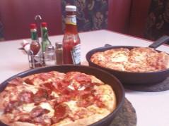 بيتزا وسط .. سميكه
