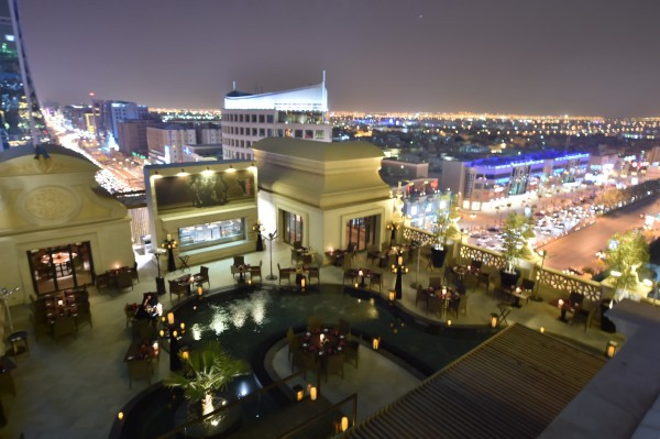 Roof Restaurant.JPG - بامبا جريل فندق نارسيس,