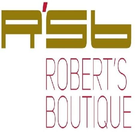 لوجو روبرتس بوتيك برجر - روبرتس بوتيك Robert's Boutique,