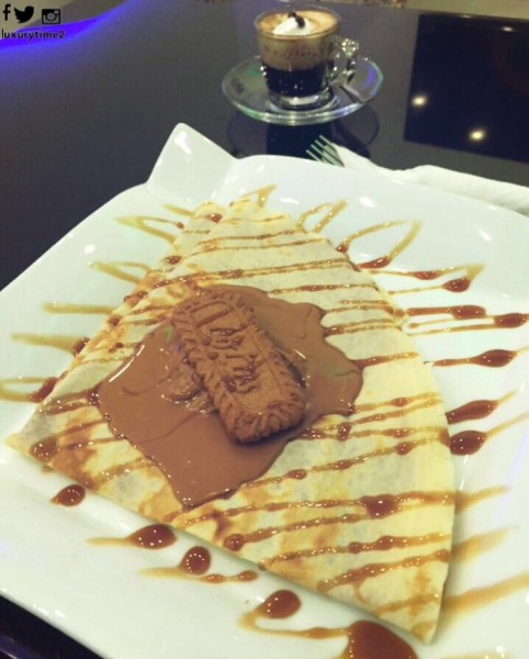 كريب اللوتس - Luxury Time Cafe,