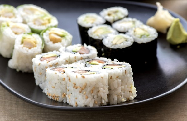 أفضل شي في العالم !! طعام لذيذ وأكل طازج - سوشي آرت Sushi Art,