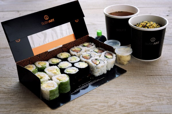 علبة غداء - سوشي آرت Sushi Art,