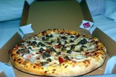 بيتزا باللحم