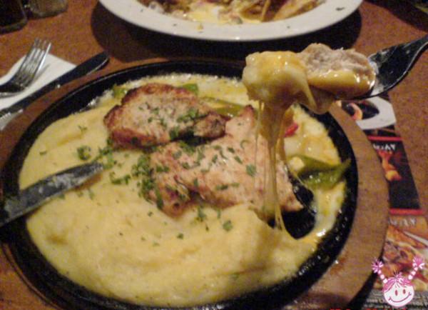 صدور الدجاج مع البطاطس المهروس - فرايديز Fridays,