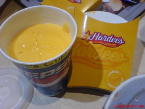 جبن - هارديز | Hardee's,