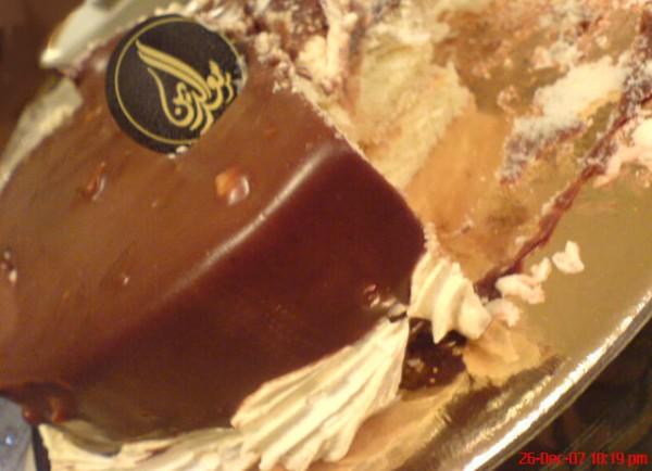 كيكة الشوكولاته حلويات سعد الدين Saadeddin Sweets قيم