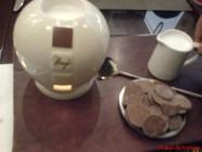حليب بالشوكولاته