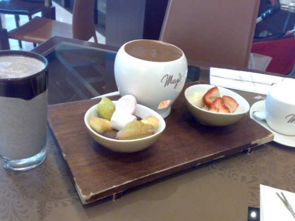 غمسها - مايا شوكلتري Maya Cafe,