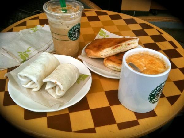 دجاج بانيني بالفيتا وراب - ستاربكس Starbucks,