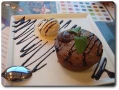 فوندا شوكولاته مع الايسكريم