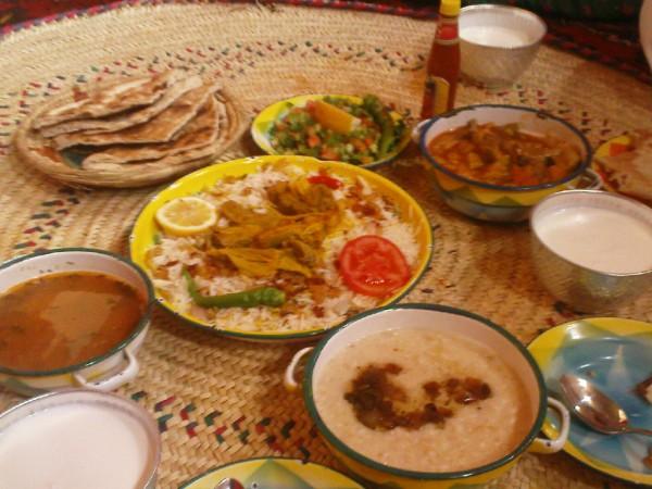 أطيب الأكلات السعودية - القرية النجدية,