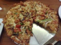 بيتزا بصوص الباربكيو