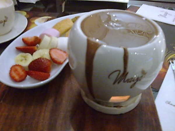 جوكلت فوندو - مايا شوكلتري Maya Cafe,