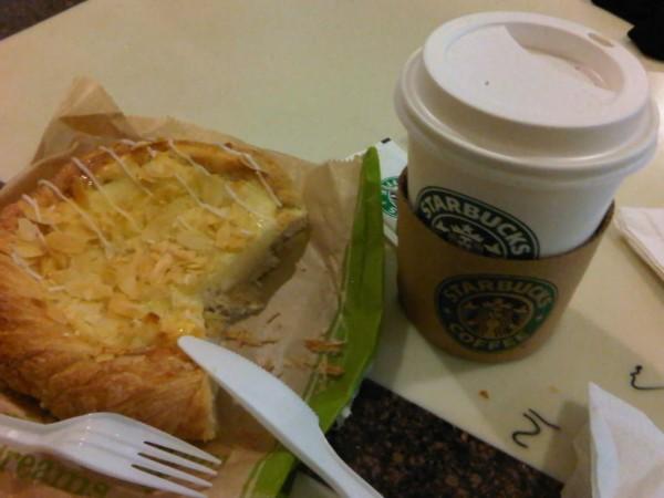 فطيرة الجبن ستاربكس كافيه Starbucks Cafe قيم