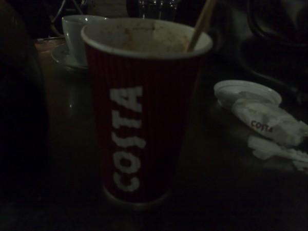 كابتشينو - كوستا كافيه COSTA CAFE,