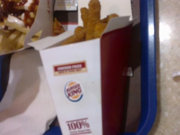 اصابع الدجاج - برجر كنج Burger King,