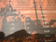 كلمات تركيه مع النطق والترجمه