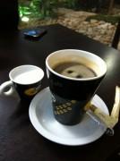 قهوة أمريكية مع حليب