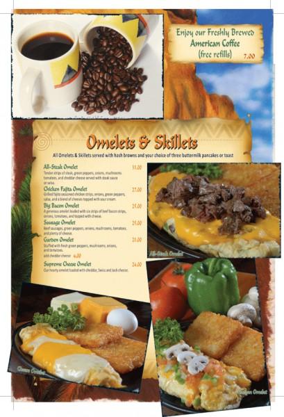 قائمة الإفطار صفحة ٢ - بافالوز كافيه Buffalo's Cafe,
