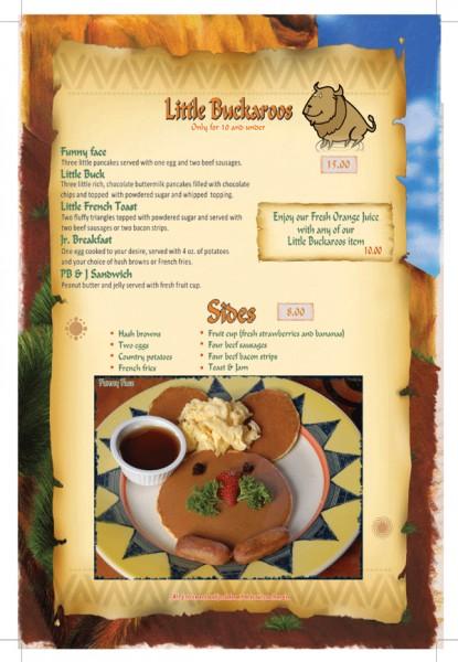 قائمة الإفطار صفحة ٦ - بافالوز كافيه Buffalo's Cafe,