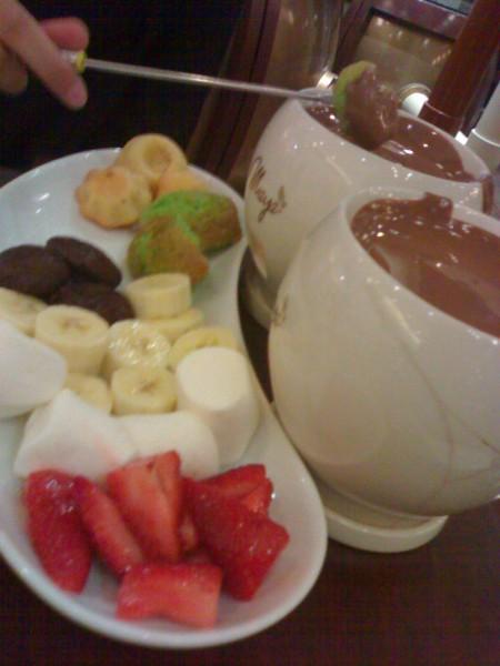 دبل فوندو - مايا شوكلتري Maya Cafe,