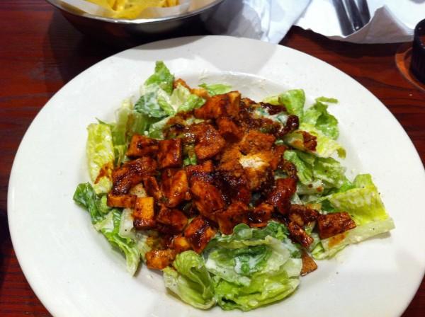 سلطة سيزر دجاج(بلمسه مكسيكيه) - إل تشيكو El Chico Cafe - السعودية,