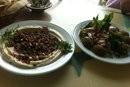 حمص باللحم