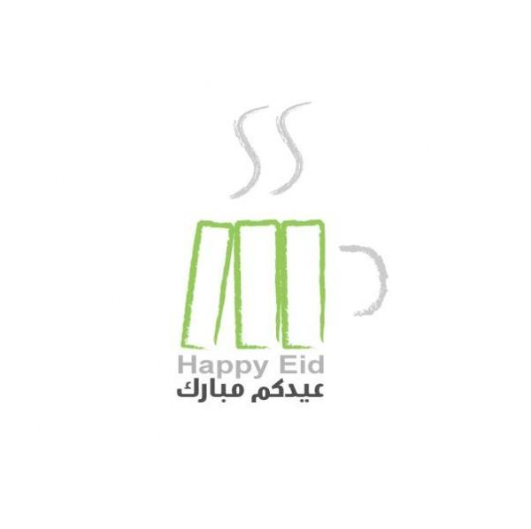 Happy Eid - بوكتشينو  Bookccino,