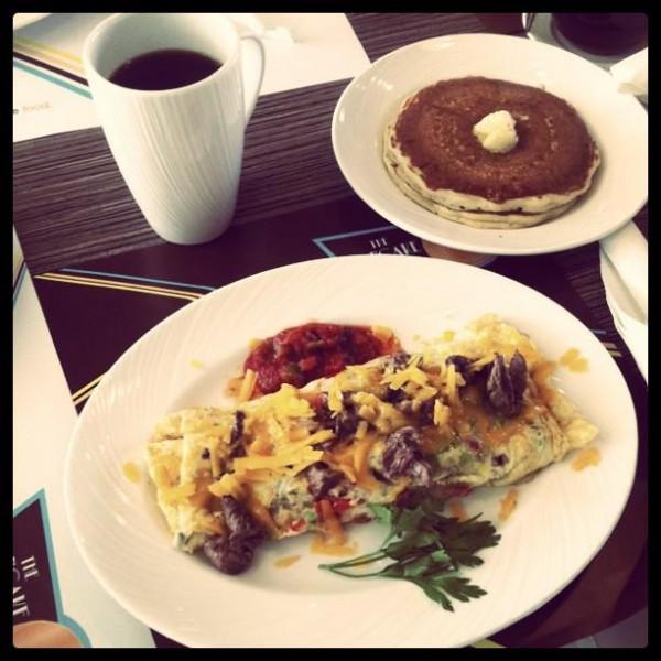 لودد ستيك اومليت - بانكيك هاوس The Pancake House,