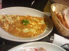 Herb & cheese omelette BD 1.9