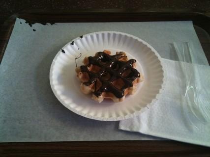 وافل بالشوكولاة - ركن الوافل | Waffle Corner,