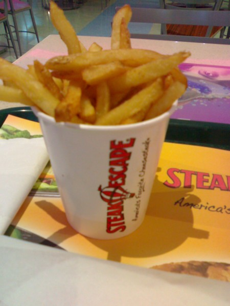 البطاطس - ستيك سكيب STEAK ESCAPE - البحرين Bah,
