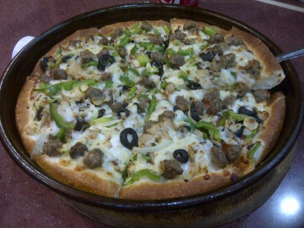 بيتزا سوبريم لحم - البيتزا الشهية Delicious Pizza,