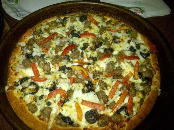 بيتزا لحم سبايسي - البيتزا الشهية Delicious Pizza,