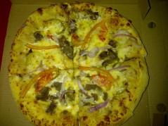 بيتزا الشاورما السلطاني