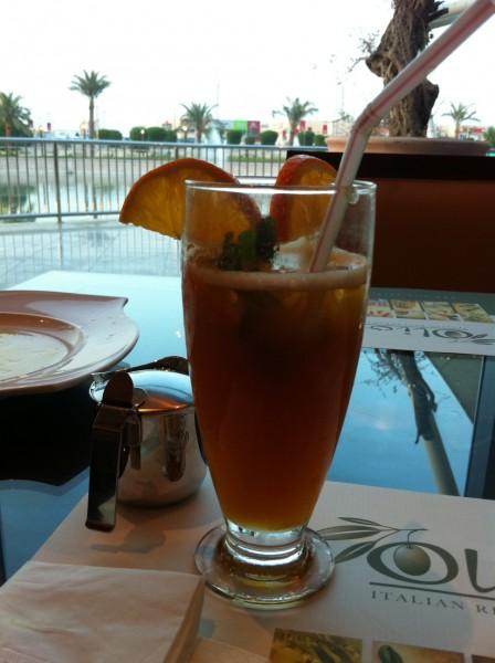 Iced Tea - شاي مثلّج - أوليو                                 olio,