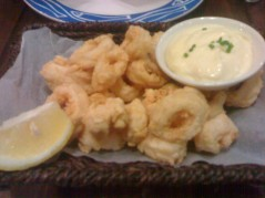 gold calamari