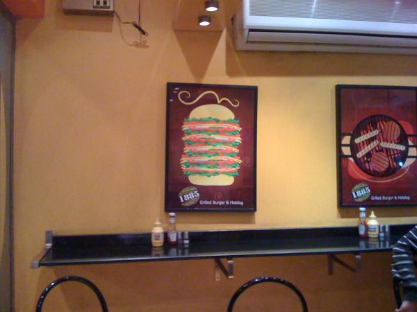 الكراسي - 1885 Burger,