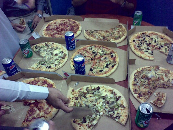 في العمل .. - دومينوز بيتزا السعودية -  Domino's Pizza KSA,