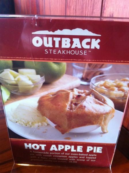 - اوت باك ستيك هاوس Outback Steakhouse,