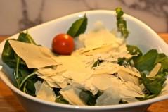 Salad di rucola con parmigiano