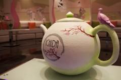 hand made teapot