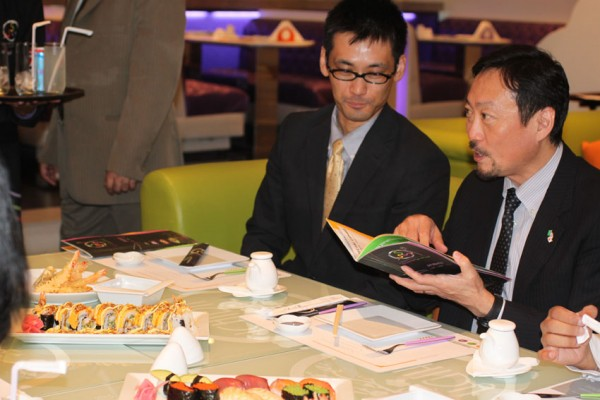 Visit from Japanese Embassy - أوي لاونج سوشي  Oi Lounge Sushi,
